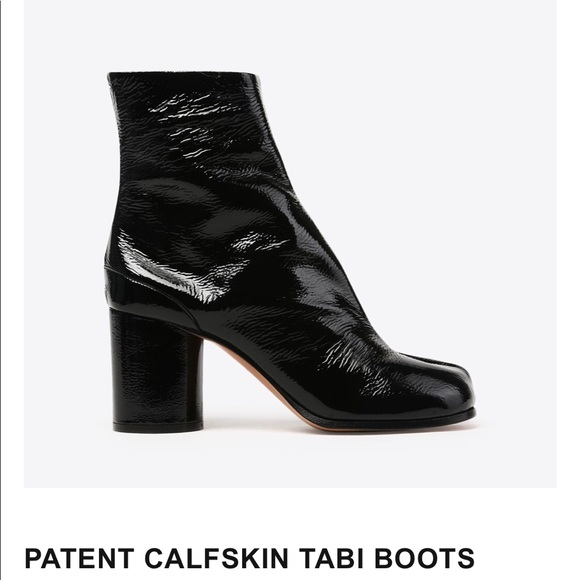 995504c4eae New Patent Leather Tabi Boot by Maison Margiela NWT